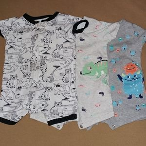 Carter's Bodysuits - Set of Three (3-6 months)